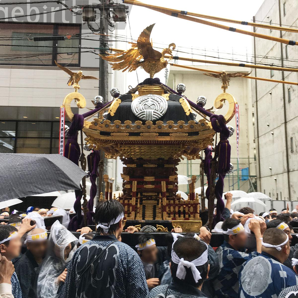 下谷神社 大祭 神輿渡御